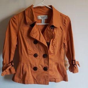 American Rag Burnt orange fall jacket